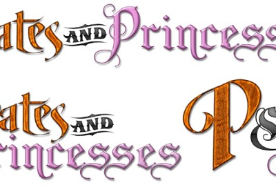 Pirates_and_Princesses_logos_various